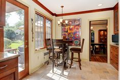 Homes for sale in Montclair, NJ #kitchen #dinein #montclair #nj #beautifulhomes #forsale #realty #realestate #amyowens