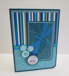 You're The Best Handmade Christian All-Occasion Card by stufffromtrees on Etsy