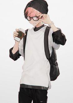 Hair Blue Anime Kawaii 62 New Ideas Kawaii Anime, M Anime, Anime Art, Kawaii Hair, Anime Wolf, Hot Anime Boy, Cute Anime Guys, Manga Boy, Anime Style