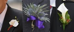 DIY: How to make a boutonni�re (buttonholes) for the groom - other - adelel