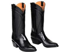Discover Lucchese–Texas bootmaker crafting the finest handmade western and contemporary, cowboy and cowgirl boots since Mens Shoes Boots, Mens Boots Fashion, Leather Boots, Men's Shoes, Shoe Boots, Cowgirl Boots, Western Boots, Riding Boots, Dress With Boots