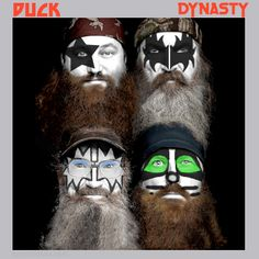 I created this Duck Dynasty parody album cover based on the KISS Dynasty album from 1979