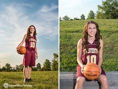 Senior Portraits Basketball