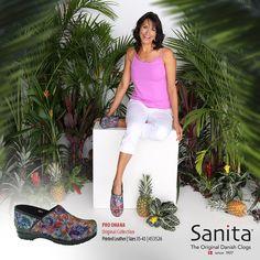 Liven up your professional ensemble with the head turning Original Professional Ohana clog from Sanita®  #MySanita #Clog #Shoes #SanitaShoes #SanitaClogs #Fashion #Comfort #Lifestyle #Shoe #Zapatos #Moda