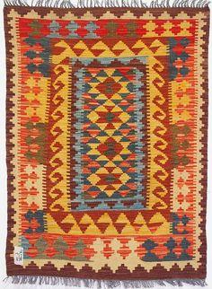 120x90 cm orient Teppich Afghan Turkmen Nomaden Planzenfarbe kelim kilim No:3