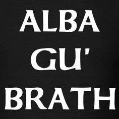 "Scottish Gaelic for ""Scotland Forever"" Scottish Symbols, Scottish Quotes, Scottish Tattoos, Scottish Gaelic, Glasgow, Edinburgh, Scotland Tattoo, Scottish Recipes, Family History"