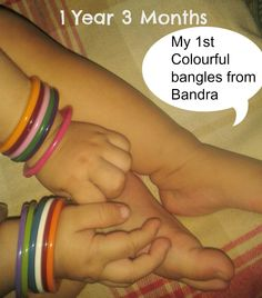 My 1st colourful bangles