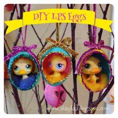 Imagination Station: DIY Littlest Pet Shop Easter Egg Decorations