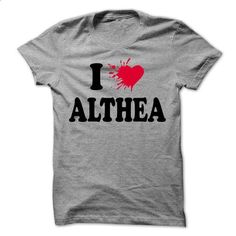 I loves ALTHEA - Awesome Name Shirt ! - #shirt fashion #sweater for women. MORE INFO => https://www.sunfrog.com/LifeStyle/I-loves-ALTHEA--Awesome-Name-Shirt-.html?68278