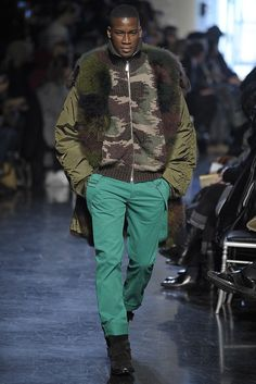 Up Your Game! | Winter Fur Fashion for Men | Jean Paul Gaultier Fall/Winter 2012/2013