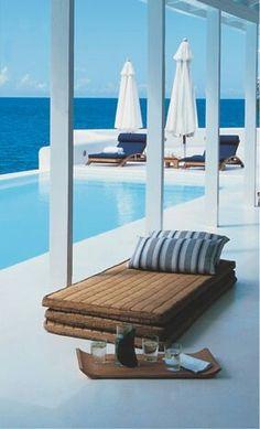 #blue #beachhouse #pool