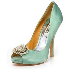 high heel with pearls