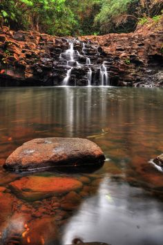 ✮ Twin Falls, on the Road to Hana, Hawaii