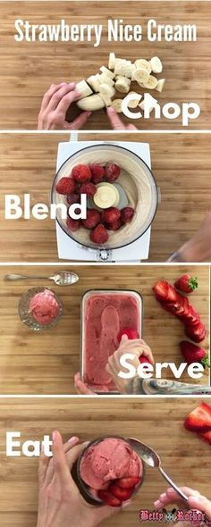 Who says dessert can't be good for you? Strawberry Nice Cream is a refreshing, delicious, 4-ingredient treat that's dairy-free, sugar-free, and vegan!