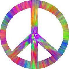 Tie Dye Peace and Love   PEACE-SIGN-HIPPIE-VINYL-DECAL-DECALS-STICKER-STICKERS-TIE-DYE-TIEDYE ...