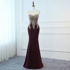 0cd73765fc9 2018 Prom Dresses Long Red Evening Dresses Foral Tulle Dress Women Formal  Party Gown Fashionable Bri