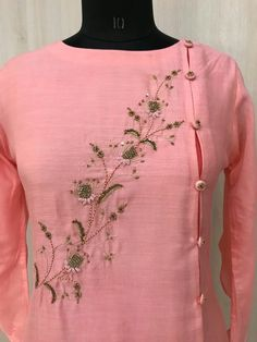 Best 12 For details ping WhatsApp messenger 09947840682 Different colours are available – SkillOfKing. Salwar Suit Neck Designs, Neck Designs For Suits, Kurta Neck Design, Kurta Designs Women, Designs For Dresses, Dress Neck Designs, Salwar Designs, Blouse Designs, Kurti Embroidery Design