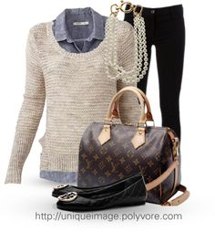 """""""Winter Outfit #5"""" by uniqueimage on Polyvore"""
