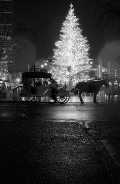 How about watching an old movie by the fire after the carriage ride?
