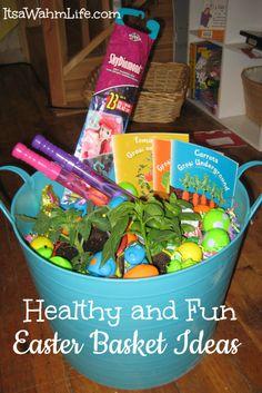 Healthy Easter Basket Ideas ~ ItsaWahmLife.com