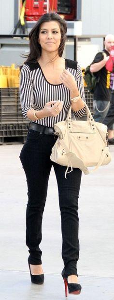 Shoes - Christian Louboutin Purse - Balenciaga Jeans - Paige Shirt - H+M bodysuit