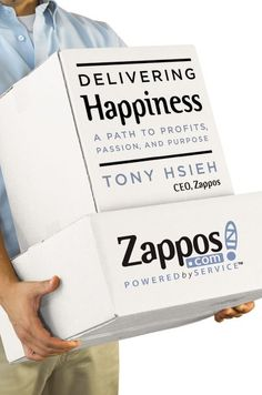 """""""Delivering Happiness: A Path To Profits, Passion, And Purpose""""  Business Plus Zappos CEO Tony Hsieh's """"Delivering Happiness"""" — which has become a brand unto itself — is remarkable for the way it marries airy startup visions with pragmatic business knowhow.    Read more: http://www.businessinsider.com/best-business-books-by-ceos-2014-8?op=1#ixzz3EyZEHO33"""