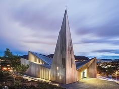 RELIGIOUS ARCHITECTURE: Community Church Knarvik, Norway The 70 best new buildings of the year - Business Insider