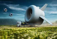 Fliegende #Windturbine erzeugt Energie in 600m Höhe ... und sendet zusätzlich ein WIFI-Signal