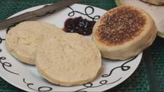 English Muffin is cooked on a hot surface and goes great with jam, cheese or a poached egg. Make your own using this easy-to-follow English muffin recipe.