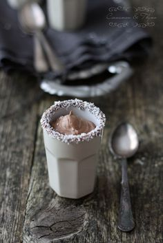 Coconut Milk Mousse #vegan #chocolate