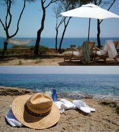 Hotel Can Simoneta | Boutique Hotel | Spain | http://lifestylehotels.net/en/can-simoneta | outdoor, beach, sea, lounger, relaxing, summer