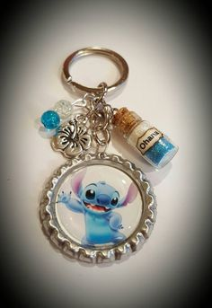 Lilo and stitch inspired keychain https://www.etsy.com/listing/501764477/disney-inspired-lilo-and-stitch-keychain