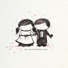 Bungle and Sprout - a new Wedding card