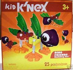 K'nex Dino Friends by K'NEX. $7.50