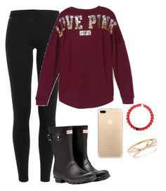 """""""Hunter boots are coming back in style"""" by gemini-lady ❤ liked on Polyvore featuring Polo Ralph Lauren, Victoria's Secret and Hunter"""