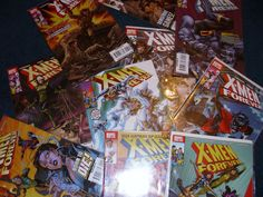 """MARVEL COMICS  """"X-MEN FOREVER"""" ISSUES  1-9, 12, 17 EXCELLENT! READY FOR GRADING"""
