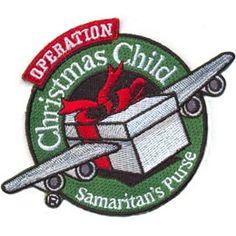 AHG Activity Patches: Operation Christmas Child Samaritan's Purse Service Patch  (November 18-25, 2014)