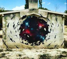 Deith Gate, Street Art, Clouds, Travel, Viajes, Portal, Destinations, Traveling, Trips
