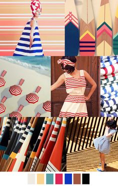 SEASIDE STRIPE - Summer 2017 Classic Stripes - Riviera - Summer