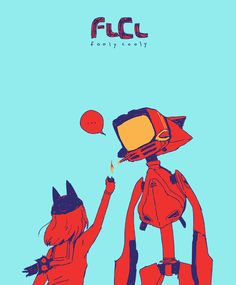 FLCL Best Anime Series Ever Made