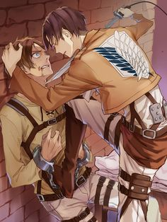 """Attack on Titan - """"please don't kill him!"""""""