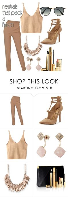 """Untitled #300"" by pau-perez-532 ❤ liked on Polyvore featuring Hermès, Sam Edelman, WithChic, Michael Kors, Kim Rogers, Yves Saint Laurent and Ray-Ban"