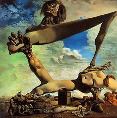 25 Famous Salvador Dali Paintings - Surreal and Optical illusion Paintings | Read full article: http://webneel.com/salvador-dali-famous-surreal-optical-illusion-paintings | more http://webneel.com/paintings | Follow us www.pinterest.com/webneel