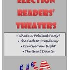 This collection of four readers' theater scripts focus on the election, debates, the presidency, and political parties.  Students will enjoy reading four different scripts.  Included with each script are task cards and an activity sheet.  On sale at TpT.  Check it out!
