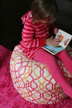 Pouf   Charming Doodle...sew it, build it!: Pouf