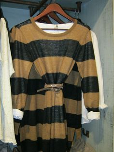 Love the stripes! Stripes my weakness :) Men Sweater, Stripes, Sweaters, Clothes, Fashion, Outfits, Moda, Clothing, Sweater