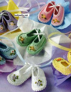 sapatinhos de bébé