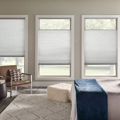 Shop Home Decorators Collection Cordless Light Filtering Cellular Shade Cellular Shades at TheHomeDepot. Get free samples here. Cellular Blinds, Cellular Shades, Modern Window Treatments, Window Treatments Living Room, Modern Window Coverings, Blinds Design, Window Design, Blinds For Windows Living Rooms, Shades For Windows
