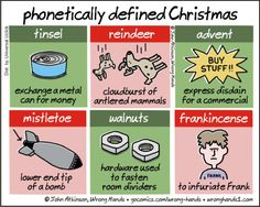 Phonetically defined Christmas