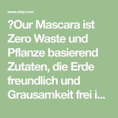 🌼Our Mascara ist Zero Waste und Pflanze basierend Zutaten, die Erde freundlich und Grausamkeit frei ist. Traditionelle Kräuter verwendet in Indien und China, wie: Schachtelhalm *, Säge Palmetto *, Foti Wurzel *, GwG * und Jamaika Öle und Afrika Butter und Wildsammlung aus Irland und